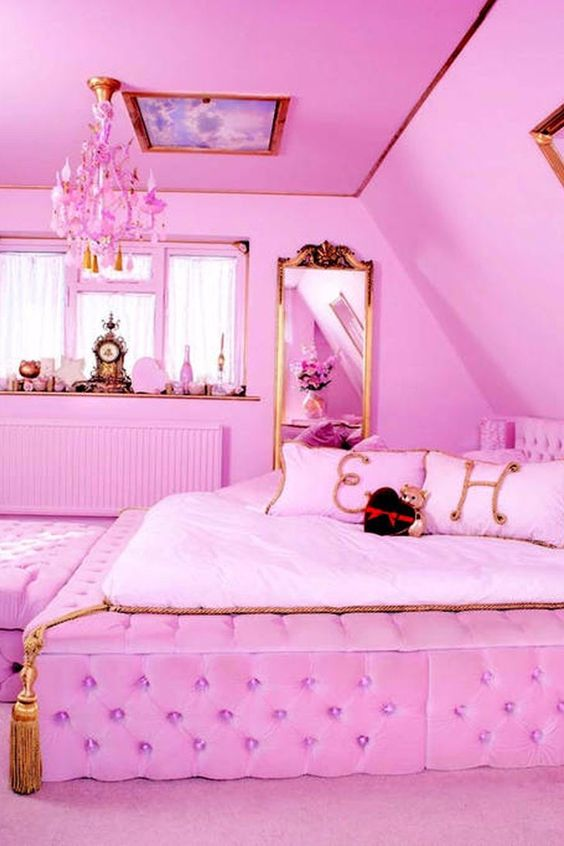 bedroom pink ideas 14