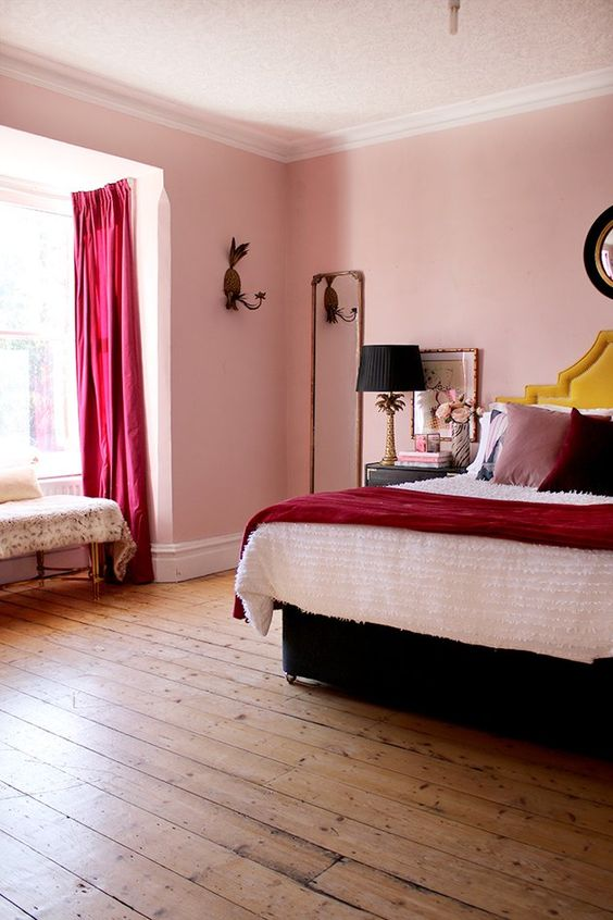 bedroom pink ideas 17