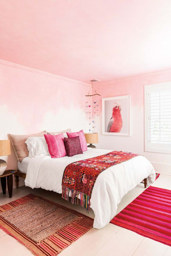 bedroom pink ideas 20