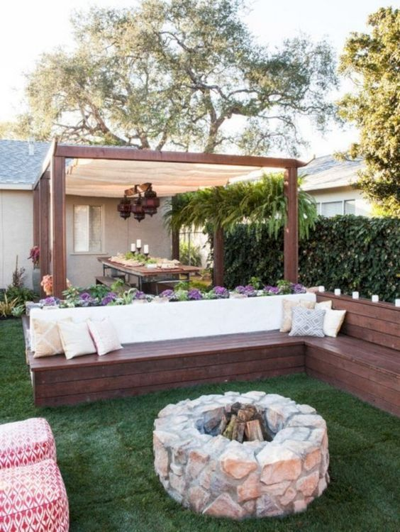 cozy backyard ideas 15