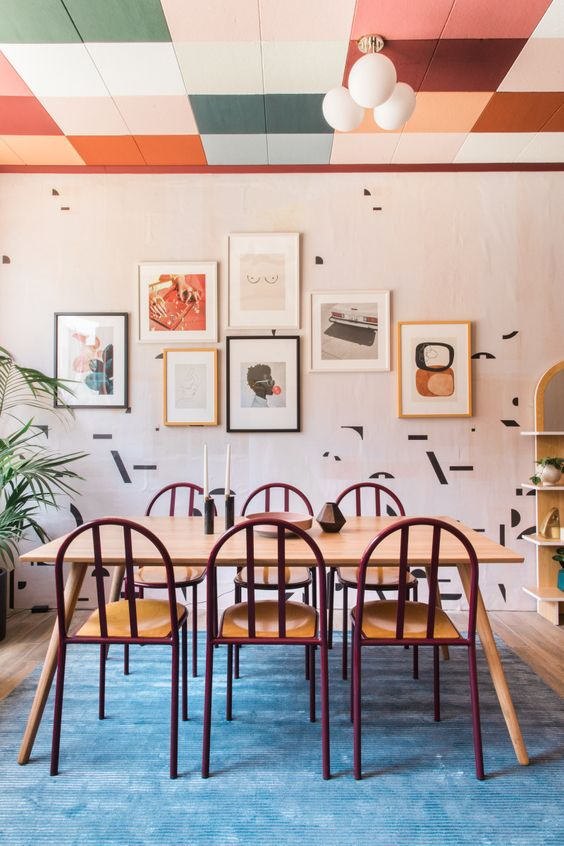 Dining Room Paint Ideas: Fun and Playful