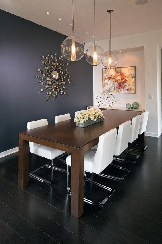 Dining Room Paint Ideas: Dark and Bright