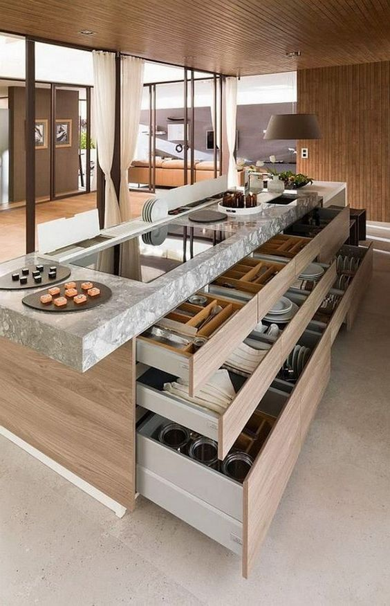 Kitchen Storage Ideas: Breathtaking Kitchen Island