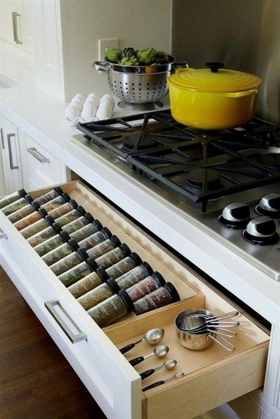 Kitchen Storage Ideas: Decorative Lovely Drawers