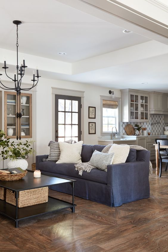 Simple Living Room Ideas: Functional Open Plan
