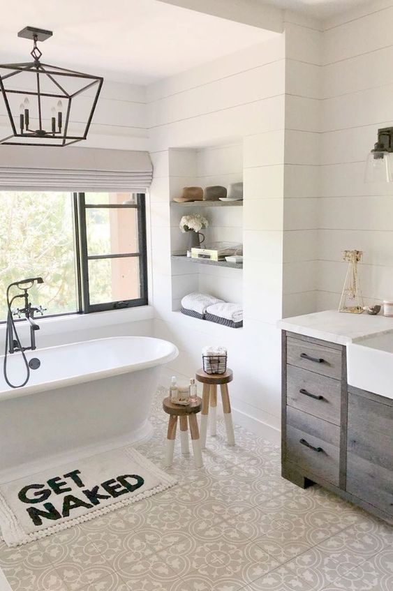 Farmhouse Bathroom Ideas 10