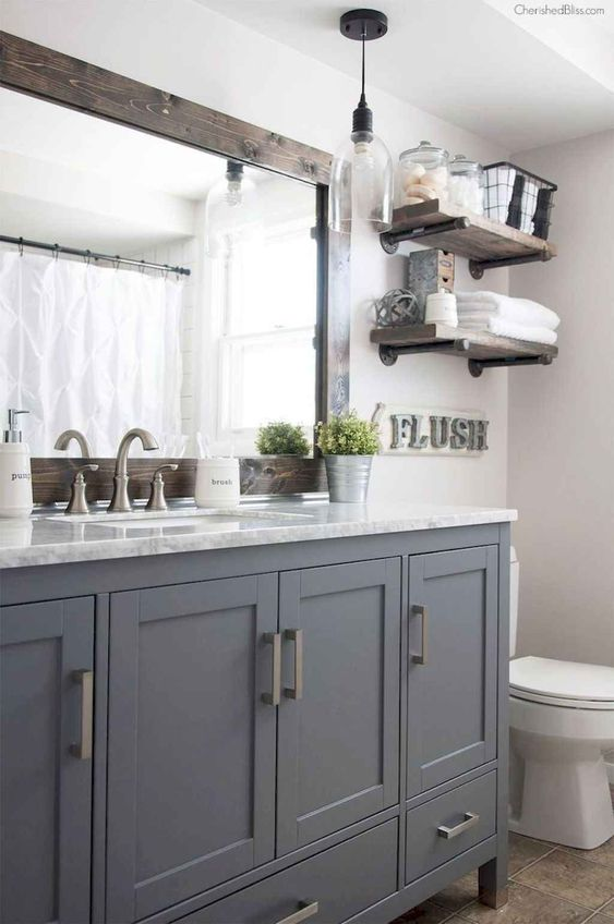 Farmhouse Bathroom Ideas 11