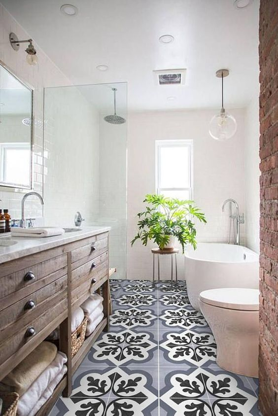 Farmhouse Bathroom Ideas 12