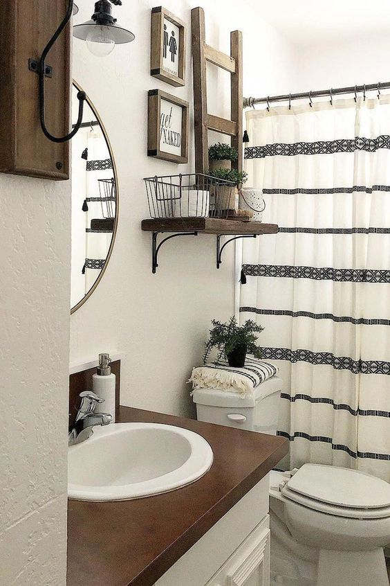 Farmhouse Bathroom Ideas 14