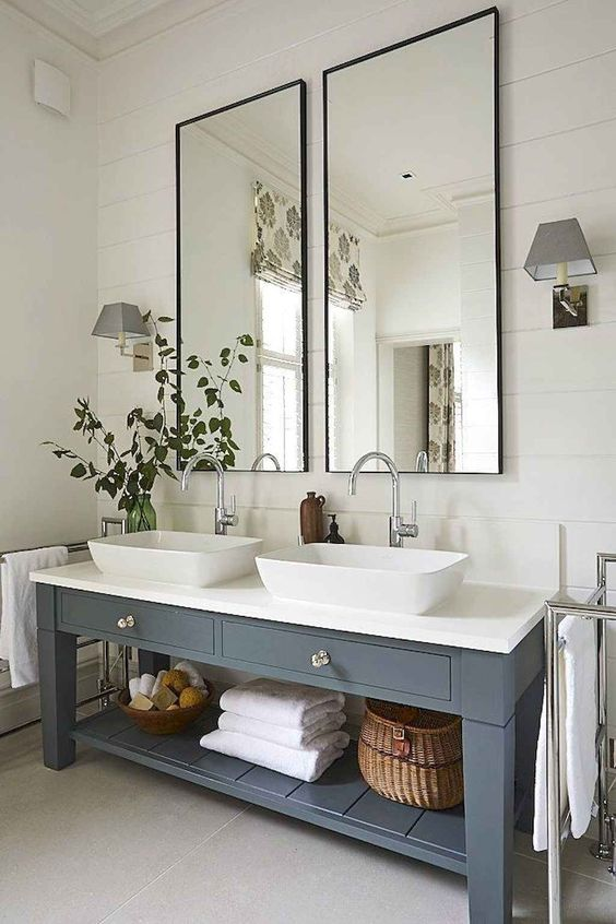Farmhouse Bathroom Ideas 17