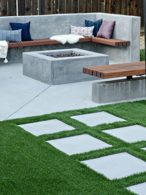 backyard sitting area ideas 10