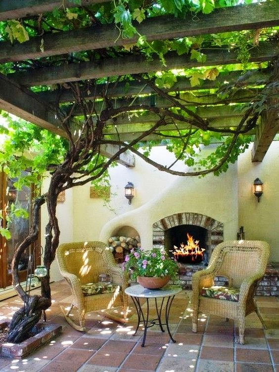 backyard sitting area ideas 14