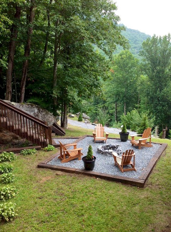 backyard sitting area ideas 5