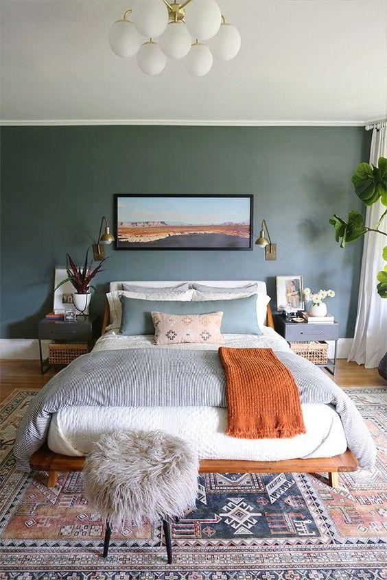 Cozy Bedroom Ideas: Modern Contemporary Feature