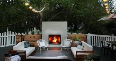 Backyard Fireplace Ideas