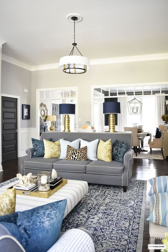 Gray Living Room Ideas: Captivating Eclectic Living Room