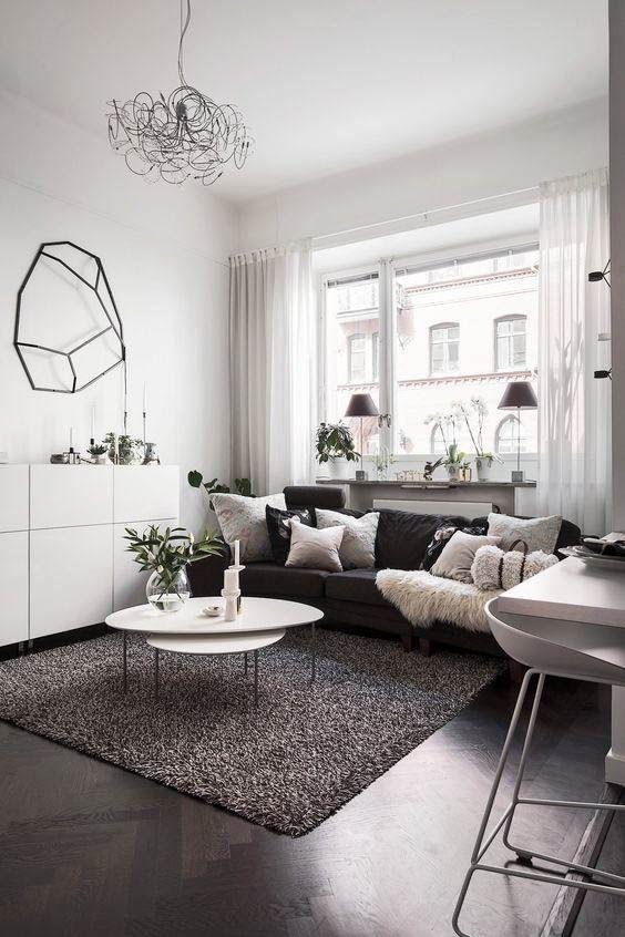 Gray Living Room Ideas 10