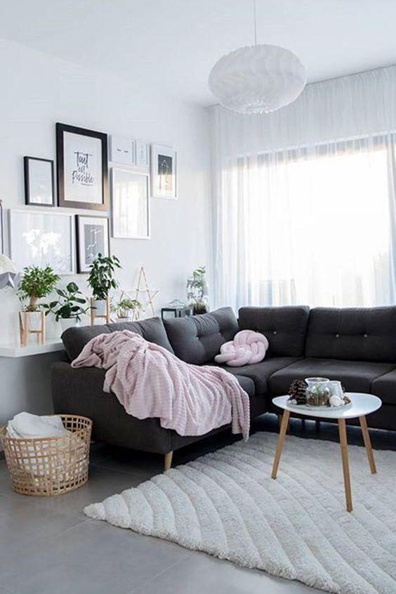 Gray Living Room Ideas 11