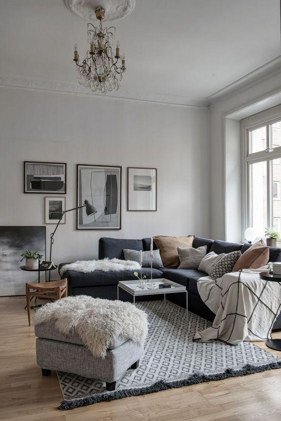 Gray Living Room Ideas 14