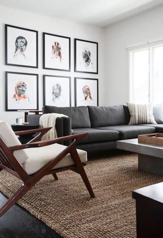Gray Living Room Ideas 15