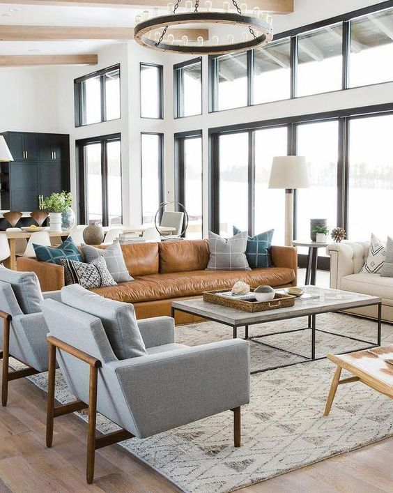 Gray Living Room Ideas: A Perfect Mixing