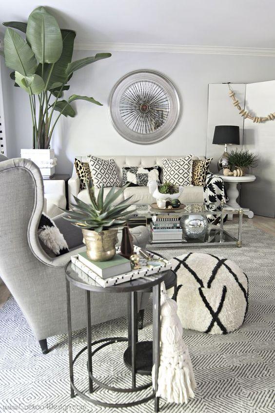 Gray Living Room Ideas 5