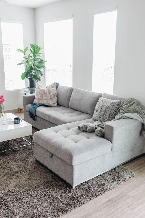 Gray Living Room Ideas 6