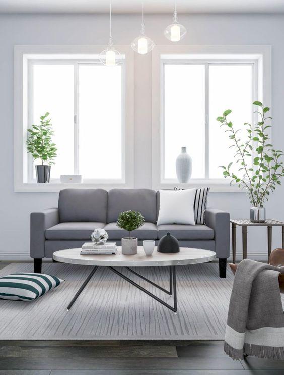 Gray Living Room Ideas 7