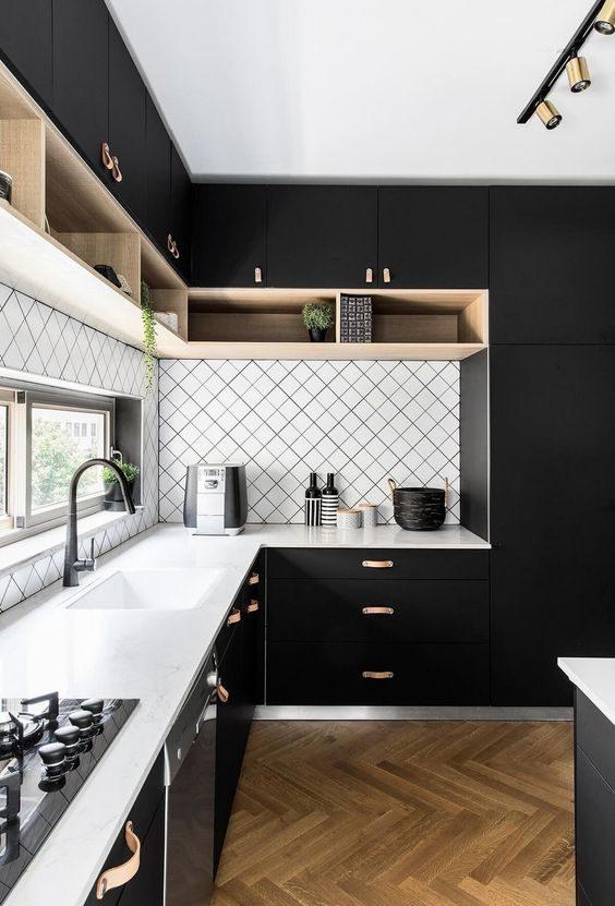 Kitchen Color Ideas: Modern Sleek Kitchen