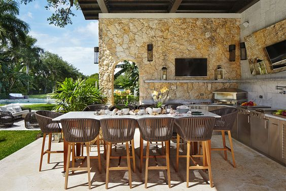 Backyard Dining Ideas