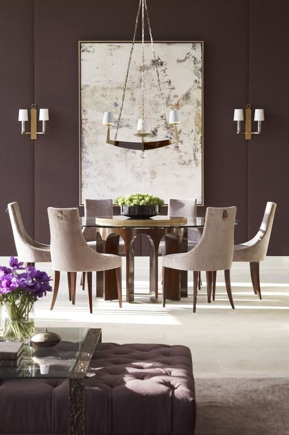 Contemporary Dining Room Ideas 12