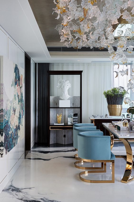 Contemporary Dining Room Ideas 14