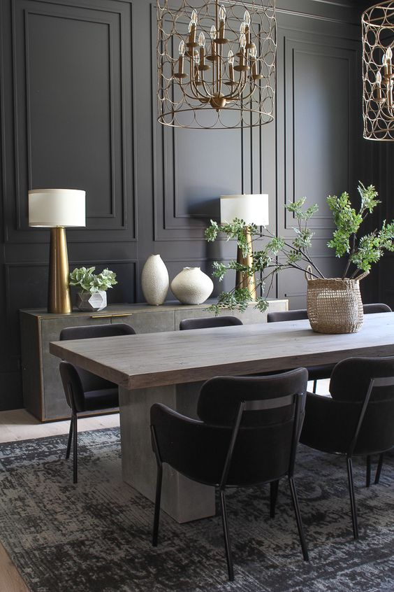 Contemporary Dining Room Ideas 18