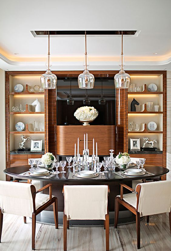 Contemporary Dining Room Ideas: Elegant and Earthy