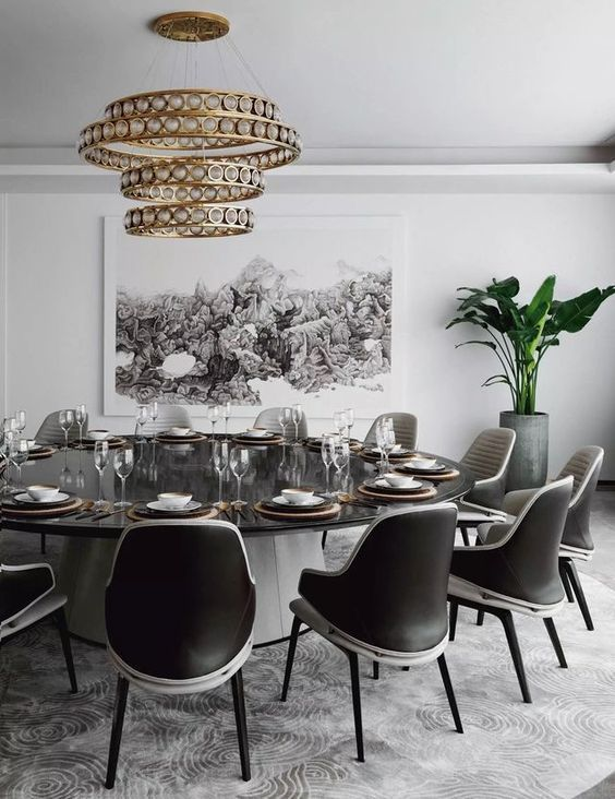 Contemporary Dining Room Ideas 9