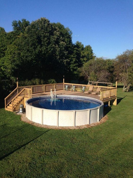 Above Ground Swimming Pool Ideas 10