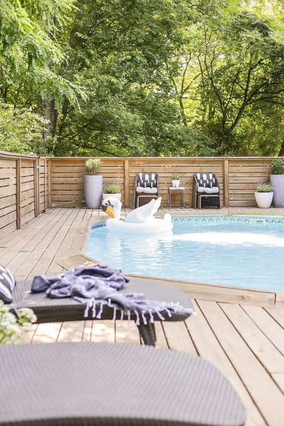 Above Ground Swimming Pool Ideas 2